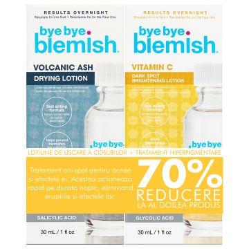 Set de fata ByeByeBlemish Drying&Serum