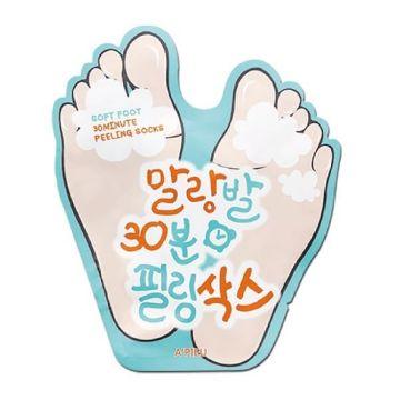 Sosete exfoliante Apieu Soft Foot 40ml