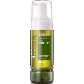Почистваща пяна Neogen Real Fresh Foam Green Tea 160гр