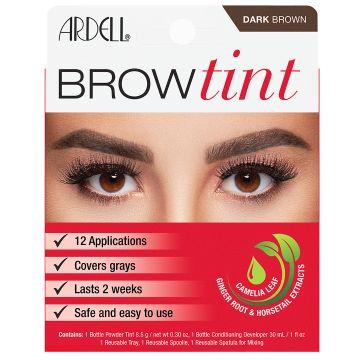 Vopsea de sprancene Ardell Brow Tint Dark Brown 8.5g