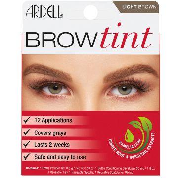 Vopsea de sprancene Ardell Brow Tint Light Brown 8.5g