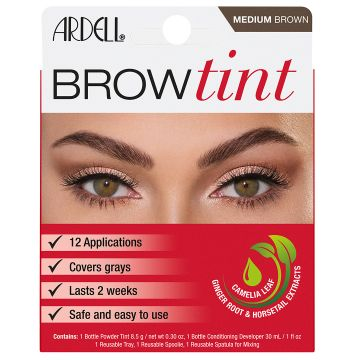 Vopsea de sprancene Ardell Brow Tint Medium Brown 8.5g