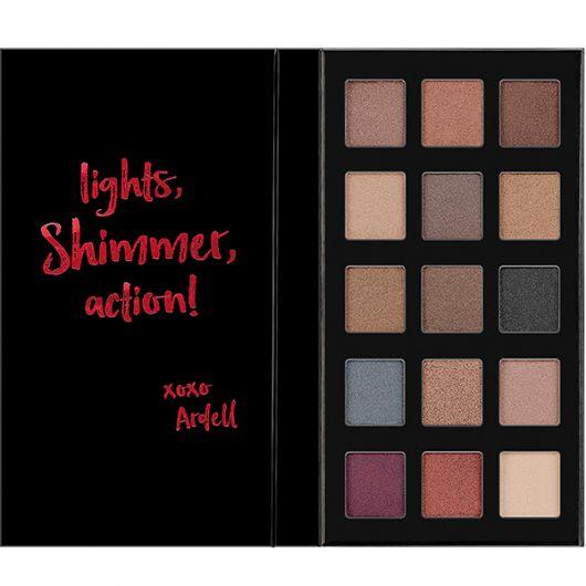 Fard pleoape Ardell Beauty Pro Eyeshadow 15 culori Shimmer