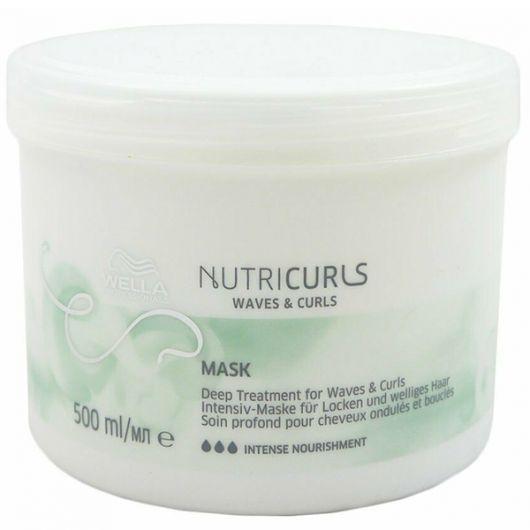 Masca de par Wella Professionals Nutricurls Waves&Curls 500ml