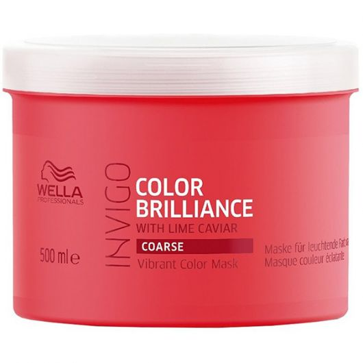 Masca par Wella Professionals Invigo Color Brilliance fir gros 500ml