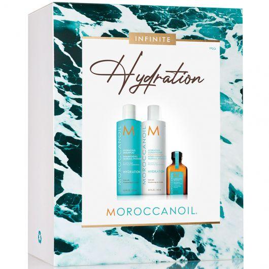 Set Par Moroccanoil Spring Hydration 250ml+250ml+25ml