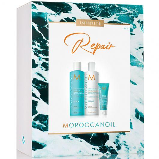 Set Par Moroccanoil Spring Repair 250ml+250ml+20ml