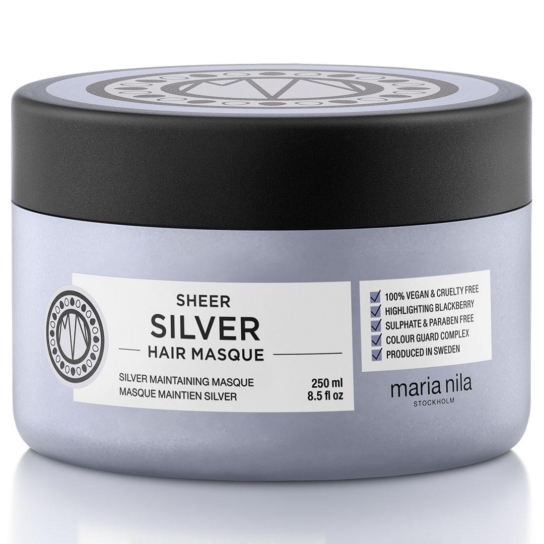 Masca de par Maria Nila Sheer Silver 250ml