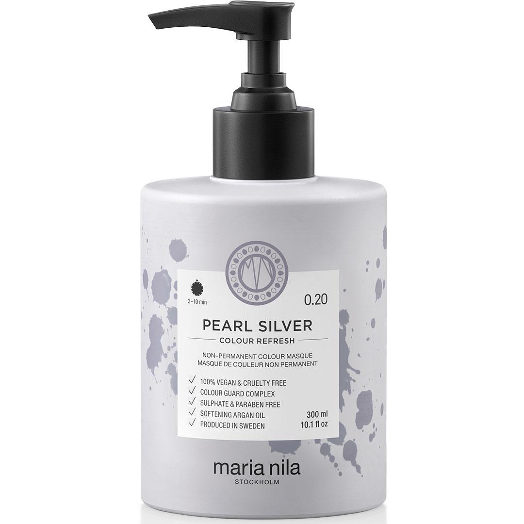 Masca par nuantatoare Maria Nila Colour Pearl Silver 0.20 300ml