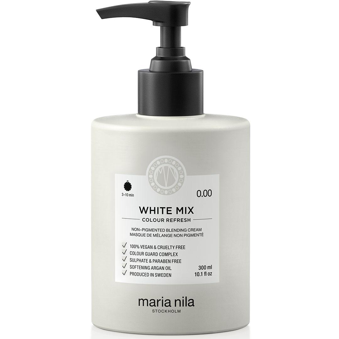 Masca par nuantatoare Maria Nila Colour White Mix 0.00 300ml